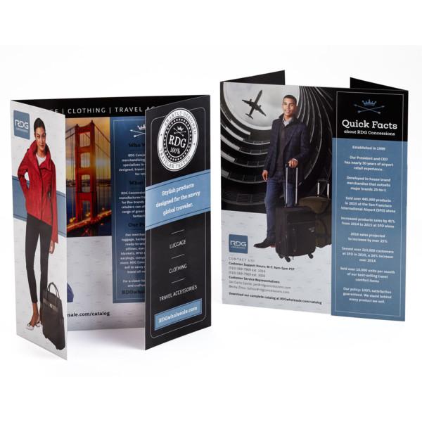 Brandora Collective designs catalogs, brochures and marketing collateral
