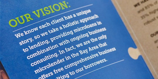Brandora Collective branding and design for Working Solutions microlender in San Francisco.