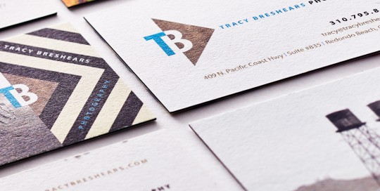 Brandora Collective Tracy Breshears Business Card Design