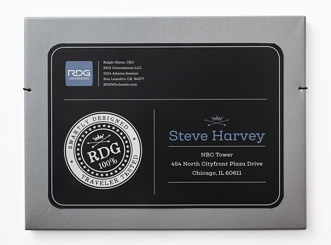 Brandora Collective branding and design for RDG Concessions and Steve Harvey