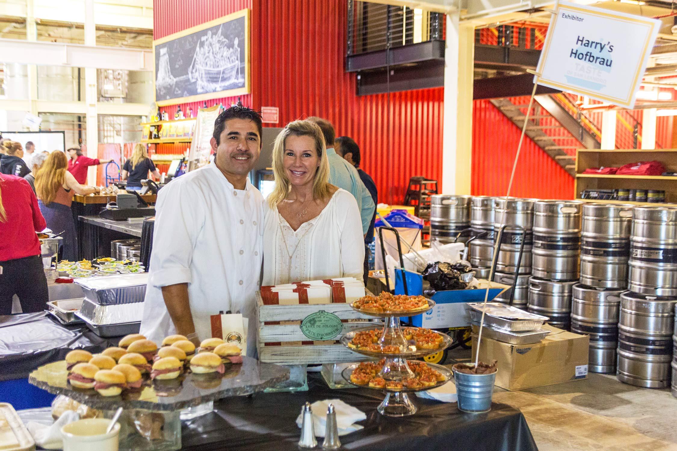 Harry's Hofbrau at Taste of San Leandro