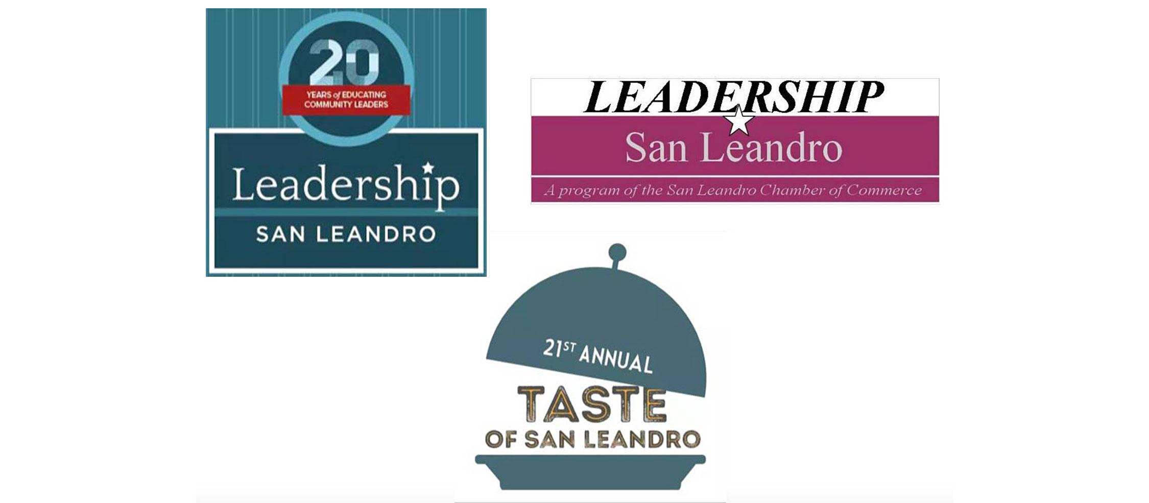 Original Leadership San Leandro and The Taste of San Leandro logo